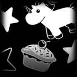 Cupcake decal icon
