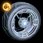Voltaic wheel icon paint
