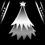 Christmas Tree decal icon