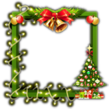 Happy Holidays avatar border icon