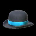 Bowler topper icon sky blue