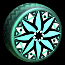 Mandala wheel icon