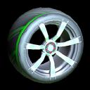 Septem wheel icon forest green