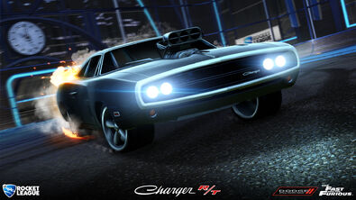 '70 Dodge Charger RT hero art