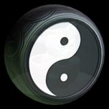 Yin-Yang wheel icon