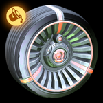 Turbine wheel icon paint