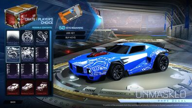 Crate - Player's Choice - Dominus GT Unmasked