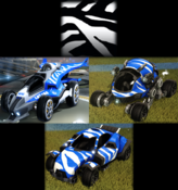 Tiger decal premium