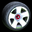 Fireplug wheel icon titanium white