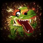 Paper Dragon goal explosion icon