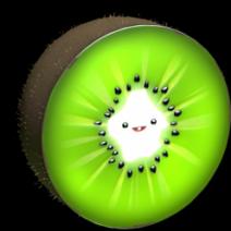 Kiwi wheel icon
