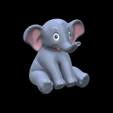Little Elephant topper icon