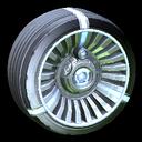 Turbine wheel icon cobalt