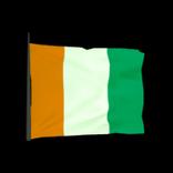 Côte d'Ivoire antenna icon