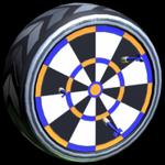 Ton-Eighty wheel icon