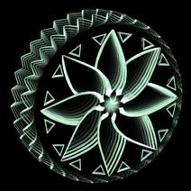 Mandala Infinite wheel icon