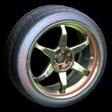 Polychrome wheel icon