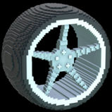 Low-Poly wheel icon