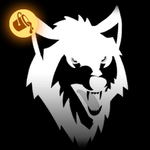 Lone Wolf decal icon painted