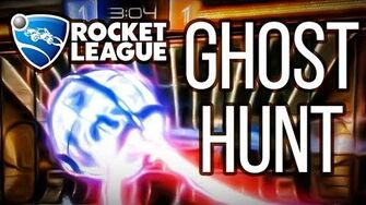 GHOST HUNT Gameplay - Rocket League (PC) Gameplay