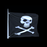 Jolly Roger antenna icon