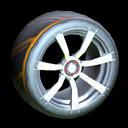Septem wheel icon orange