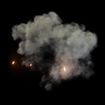 Poof goal explosion icon