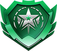 Rocket pass premium shield icon