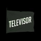 Televisor antenna icon