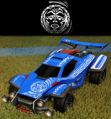 Tribal decal default rare