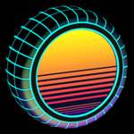 Sunset 1986 wheel icon