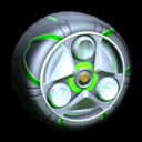 FGSP wheel icon forest green