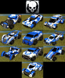 Skulls decal common