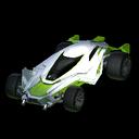 Mantis body icon lime