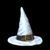 Witchs hat topper icon titanium white