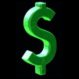Dollar Sign antenna icon
