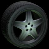 High Poly wheel icon