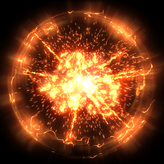 Standard Orange goal explosion icon