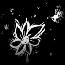 Pollinator decal icon