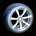Septem wheel icon cobalt