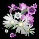 Flowers trail icon