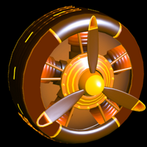 Propeller Inverted wheel icon