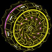 Z-RO Inverted wheel icon