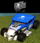 Bone jack decal premium