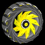 Helicoprion wheel icon