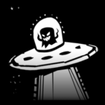 Abducted decal icon