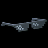 Pixelated Shades topper icon