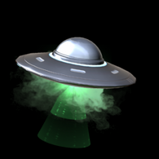 UFO II topper icon