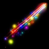 Rainbow trail icon