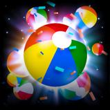 Beach Party goal explosion icon